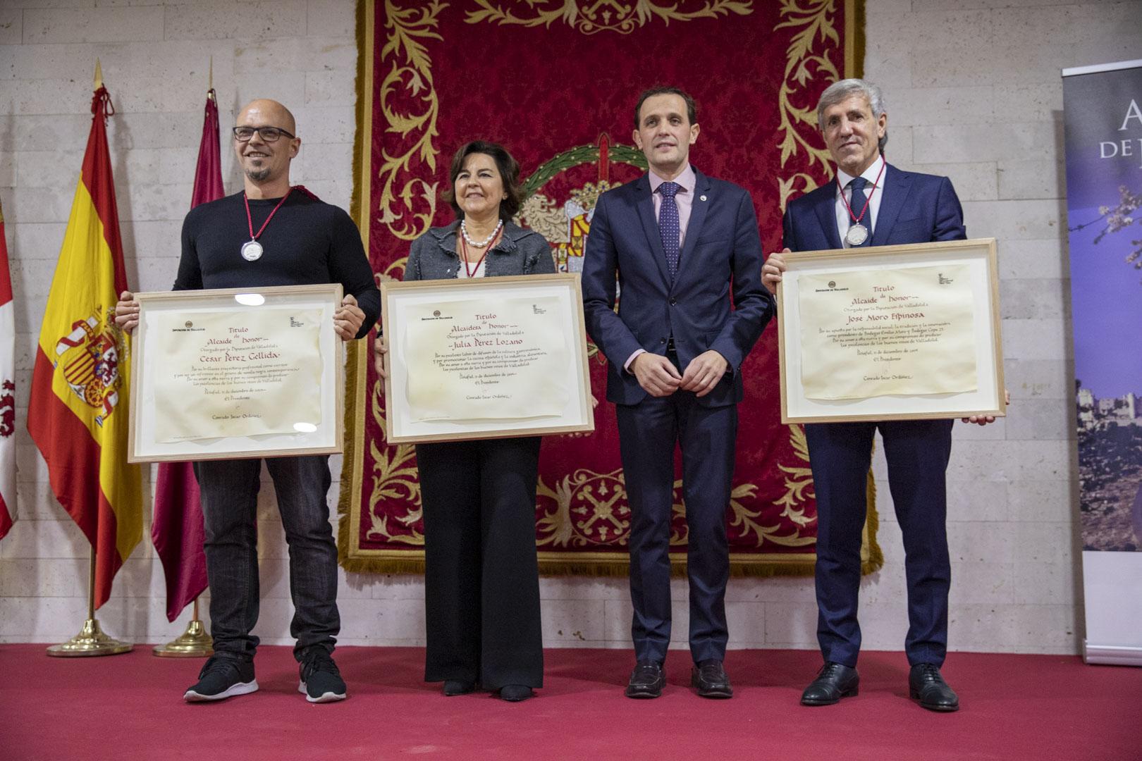 José Moro, nuevo Alcaide de Honor del Museo Provincial del Vino