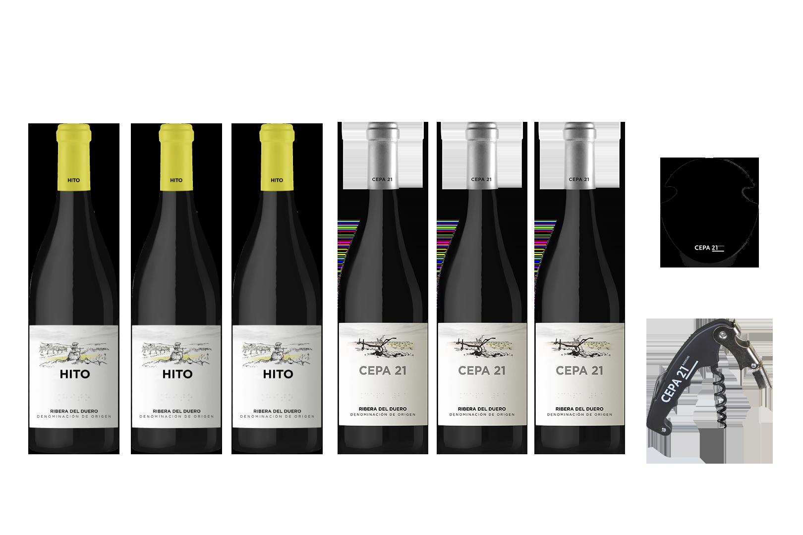 Selección de Vinos de Pura Cepa